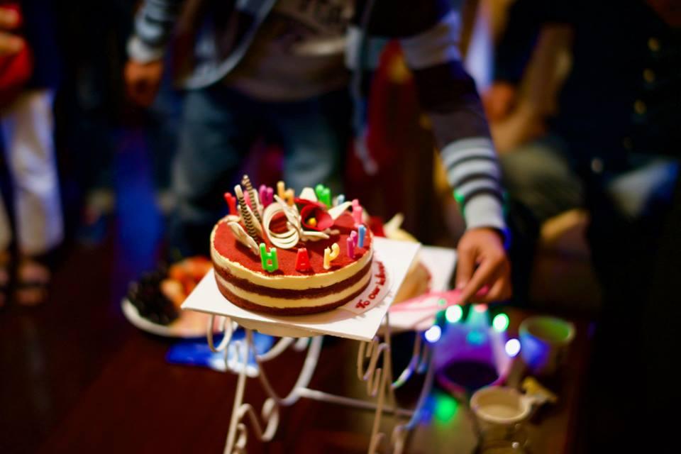 Birthday cake to Achaan